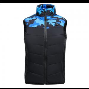 Child Kid Electric Heated Vest USB Winter Warmer Jacket Outdoor Intelligent Clothing Sleeveless Cotton Coats