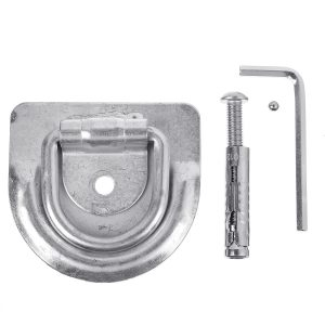 Motorcycle Bicycle Ground Safety Parking Lock Stainless Steel Scooter
