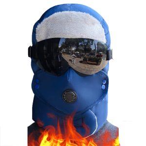 Winter Original Design Warm Winter Hat For Women Waterproof Hood Hat With Glasses