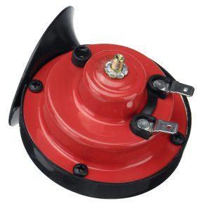 12V 300dB Dual Tone Air Snail Horns Loud Siren For Car Van Motorcycle Universal