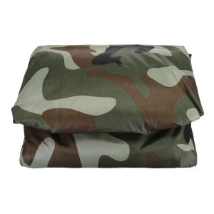 190T ATV Cover with Reflective Strips Waterproof UV Rain Dust Resistant All Weather Protection Universal Outdoor Camouflage