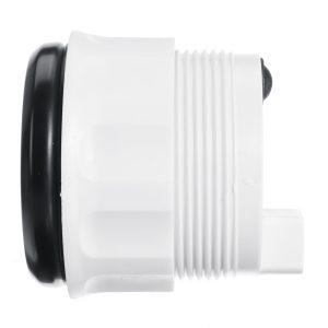 0-190 ohm 52mm LCD Boat Marine Rudder Angle Indicator 8 Color Backlight 9~32V