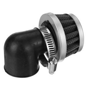 35mm / 38mm 90 Degree Bent Angled Air Filter Cleaner 90cc 110cc PIT QUAD DIRT BIKE
