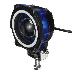 35W 3Inch LED Work Light Bar Pods Driving Fog Offroad Driving Blue