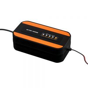 100v-240V AC Motorcycle Car Battery Charger 12v Digital Display Pulse Repair Lead-Acid Battery Charger