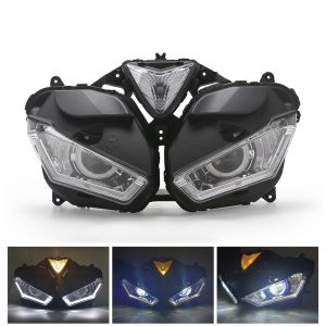 Motorcycle Front Clear Headlight Headlamp Assembly For Yamaha R3 R25 2015-2018 V2
