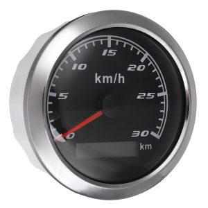 85mm GPS Speedometer Gauge With GPS Antenna 0-30km/h 0-60 km/h 0-120 km/h 0-200km/h