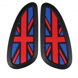 Retro Motorcycle Cafe Racer Gas Fuel tank Rubber Sticker Tank Pad Protector