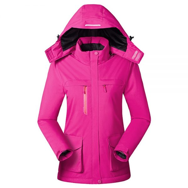 Men Women Winter Electric Heated Coats Fleece Intelligent Heating Jacket USB Charging Outdoor Windproof Climbing Clothes Skiing Riding Thermal Jackets