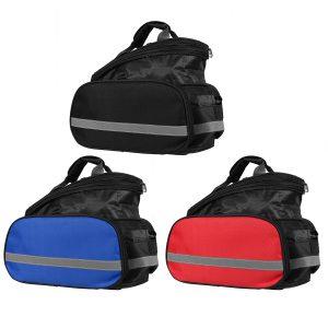Waterproof Rear Seat Storage Trunk Bag Bike Panniers Cycling Bicycle Saddle Rack Bag