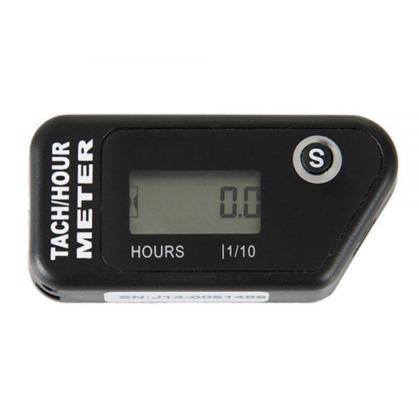 Waterproof LCD Digital Display Resettable Hour Meter Counter Gasoline Engine Timer for Motorcycle ATV Moto Lawn Mower