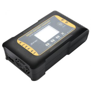HTRC 12V/24V 10A/5A 7-Stage Touch Screen Pulse Repair LCD Battery Charger For Lithium LiFePO4 Lead-Acid AGM GEL
