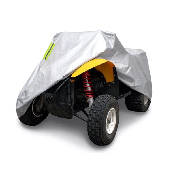 190T Waterproof Quad Bike ATV Cover with Reflective Stripe Universal Covers
