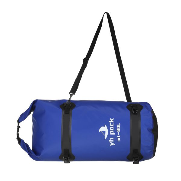 40L/80L Roll Bag Outdoor Waterproof Riding Camel Motorcycle Bicycle Travel Tail Bag Rafting