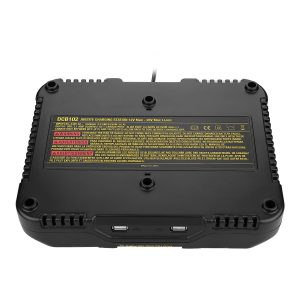 10.8V-20V Dual Twin Port Li-Ion 3A Rapid Battery Charger For DCB105 DCB101 DCB102 DCB112 DCB205