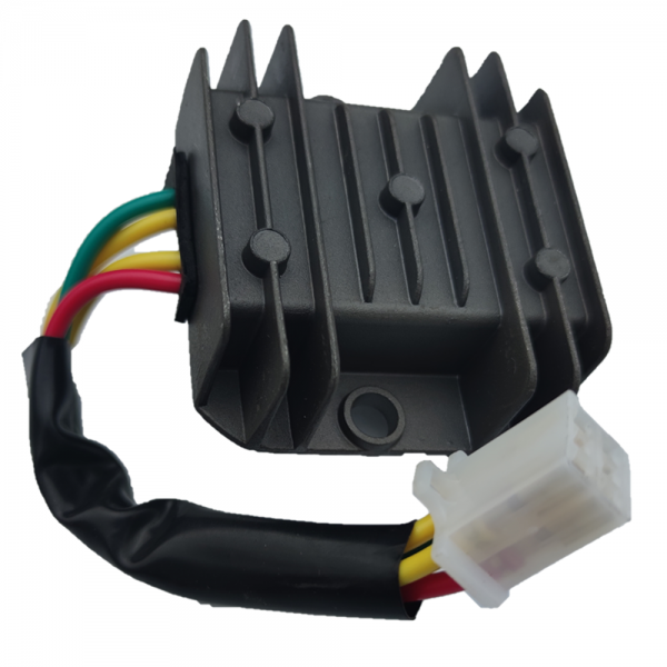 4-Wire Full Wave Motorcycle Voltage Rectifier Regulator Universal For 12V Bike Quad Scooter CG125 FXD125