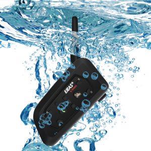 EJEAS V6 Pro 1200M 6 Riders Motorcycle Helmet Intercom Headset bluetooth Interphone Music GPS Waterproof