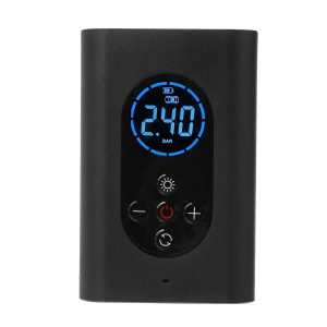 150PSI 4000mAh 80W Portable Digital Air Pump With Power Bank LED Light Function For Car Bicycle Motorcycle Tires Inflation