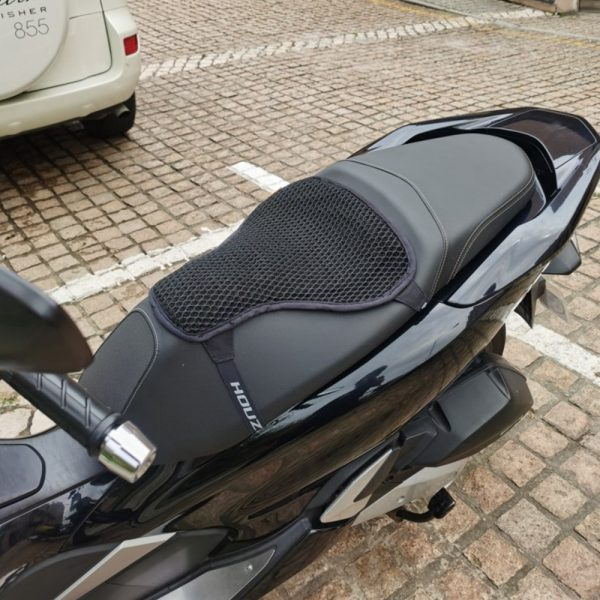 3D Honeycomb Universal Motorcycle Cool Seat Cover Mesh Cushion Breathable Pad XS