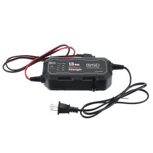 Portable 12V Auto Battery Charger Maintainer For Car Motorcycle Outdoor