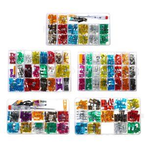 100/140/220/272/300PCS Fuses Assortment Kit Medium Small Fuse Kit Fuses Puller
