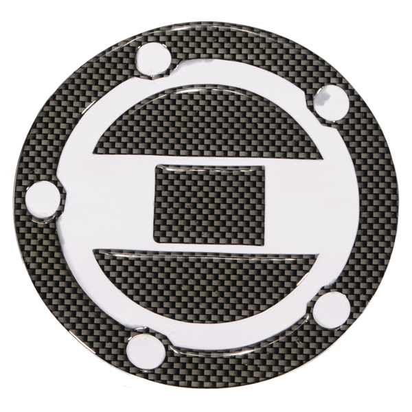 Carbon Fuel Gas Cap Cover For Suzuki GSXR600 Brand New