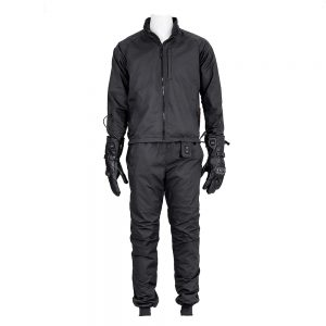 MIDIAN 12V Motorcycle Heating Suit Genuine Leather Gloves Clothes Pants Suit Hooded Jacket Winter Riding Waterproof Windproof Heated Coats
