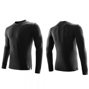 Supield Men's Aerogel Semi-High Neck Warm Top Moisture-Absorbing Autumn Winter Clothing Long Sleeve Thermal Underwear from Xiaomi Youpin