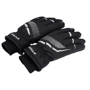 SGODDE Touch Screen Gloves Anti-slip Thermal Sports Winter Warm Skiing Thicken Fleece Lining Riding Hiking Driving Running