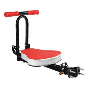 Black/Red Quick Dismounting Safety Seat For Electric Car /Bicycle Children Kids