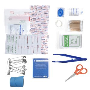 120Pcs/Set Survival Gear Emergency First Aid Kits Upgraded SOS Medical Bag for Home Office Car Boat Camping Hiking