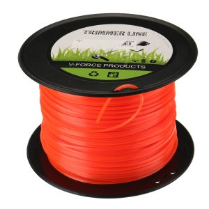 2.4mm 30m/170m/253m Heavy Duty Nylon Square Trimmer Strimmer Line Brushcutter Cord Rope