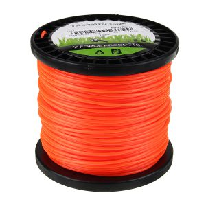 2.4mm 30m/50m/100m/170m/261m Heavy Duty Nylon Square Trimmer Strimmer Line Brushcutter Cord Rope