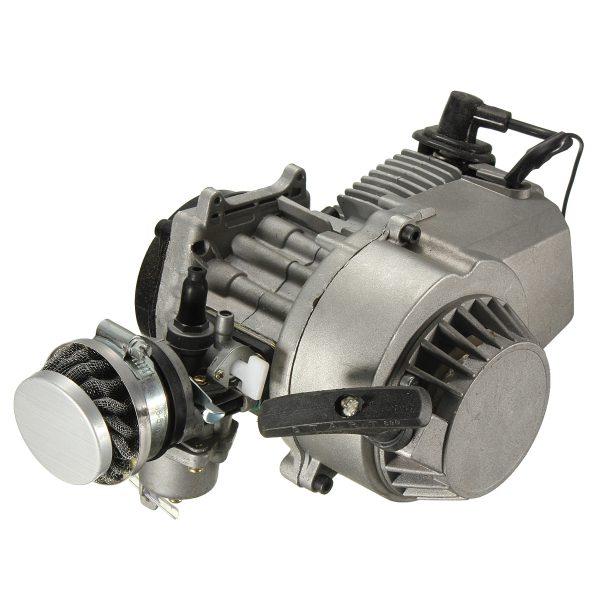 49cc Quad Engine Carburetor Pull Start Air Filter Mini Motorbike