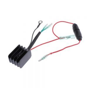 Marine Outboard Voltage Regulator Rectifier Replaces for Yamaha 25 30 40 50 60 70 Hp Boat Engine Repalce 6G1-81970-61 1984-2001
