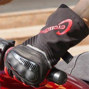 CYCLEGEAR CG676 Waterproof Motorcycle Gloves Warm Full Finger Touch Screen Thickening Gloves Four Seasons Universal