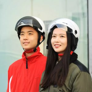 MIUXIAOGE Riding Helmet Safety Protective With Goggle Lightweight Breathable For Men Women Winter Summer Motorbike From Xiaomi Youpin