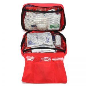 180PCS 30 Item First Aid Kit Medical Bag Emergency Survival for Car Sport Travel
