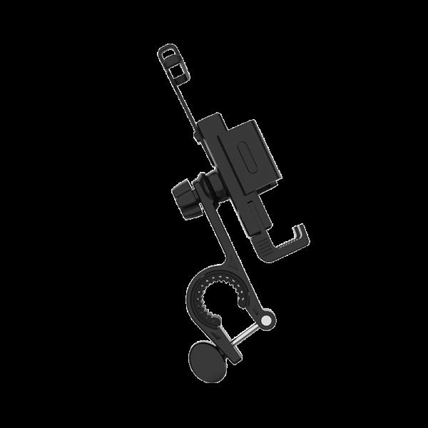 4.7-6.7 Inch Phone Bracket 360 Rotatable Mobile Phone Holder Anti-Shake Handlebar Mount For General Bicycle Motorcycle