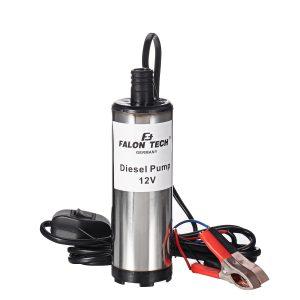 DC 12V 51mm 30L/Min Electric Fuel Transfer Pump Oil Pump Submersible Water Diesel Pump