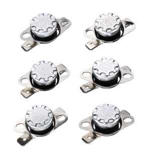 5Pcs 250V 10A KSD301 Normal Open 115 Thermostat Temperature Thermal Controller Control Switch