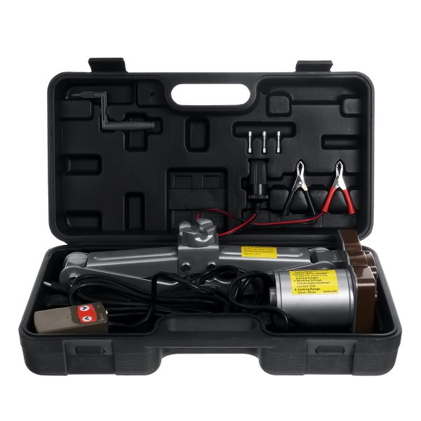 12V Car Electric Special Jack Emergency Tire Changing Toolbox