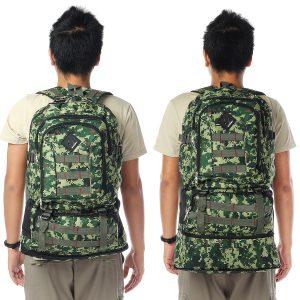 80L Outdoor Travel Backpack Sports Bag Waterproof Hiking Luggage Rucksack Bag