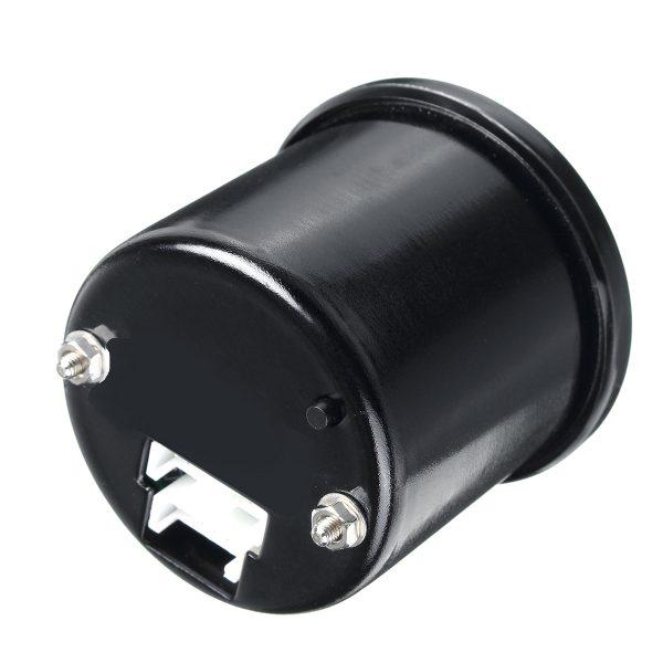 52mm Air Pressure Gauge Bar Dual Digital Display Air Ride Meter with Sensor Blue LED