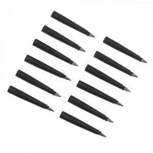 12pcs Vacuum Tire Emergency Fast Repair Leak-filling Car Tyre-repairing Nails Tool Kit with Claw Hammer Iron Chrome Universal