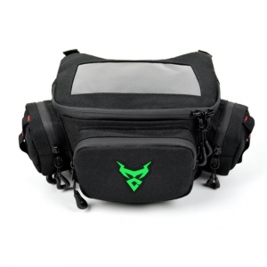 MOTOCENTRIC Touch Screen Navigation Visible Motorcycle Front Storage Bag Waterproof Oxford Cloth Riding Bag With Side Pockets Removable Rain Cover 0117