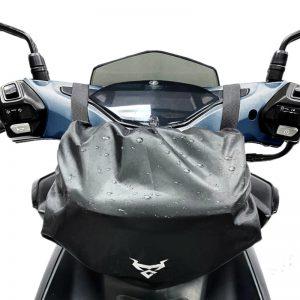 MOTOCENTRIC Mobile Navigation Waterproof Motorcycle Front Bag Visible Oxford Motocross Reflective Waist Bag Expandable Multifunctional Storage Bag 0118
