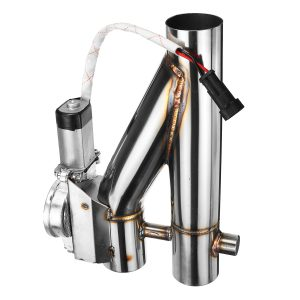 """2/2.25″/2.5""""/3"""" Electric Exhaust Catback Downpipe Cutout E-Cut Out Valve System Kit"""""""