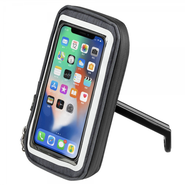 Mobile Phone Waterproof Bag GPS Navigation Bags Shock Resistant for Motorcylce Bicycle Handlebar / Rear Mirror Installation Universal