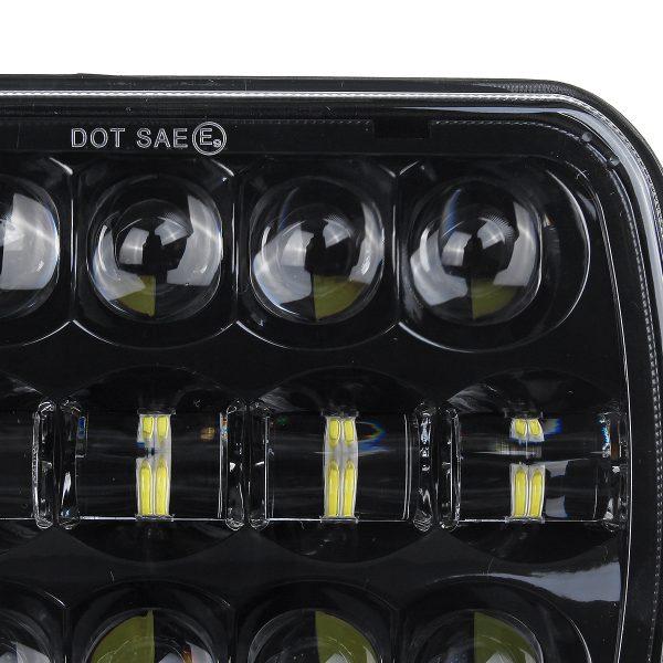 "412V/24V Hi/Low 6000K 400W 30000LM 7×6"" 5×7"" LED Headlight Projector DRL Hi/Lo For Chevrolet for Jeep Truck"
